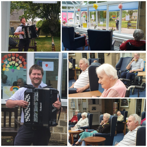 Residents at Beanlands Nursing Home don't miss a beat