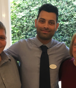 Trio of senior appointments at Nab Wood care homes