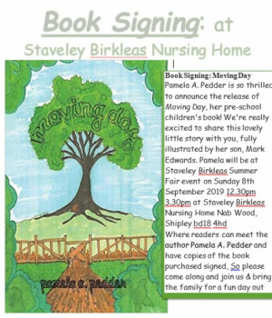 Book signing to take place at Staveley Birkleas nursing home Summer Fayre