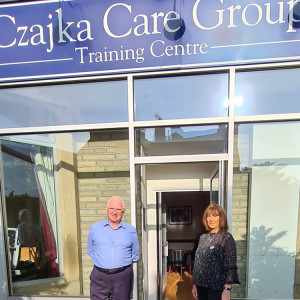 Caring duo set to retire after more than 65 years of combined service at Czajka Care group